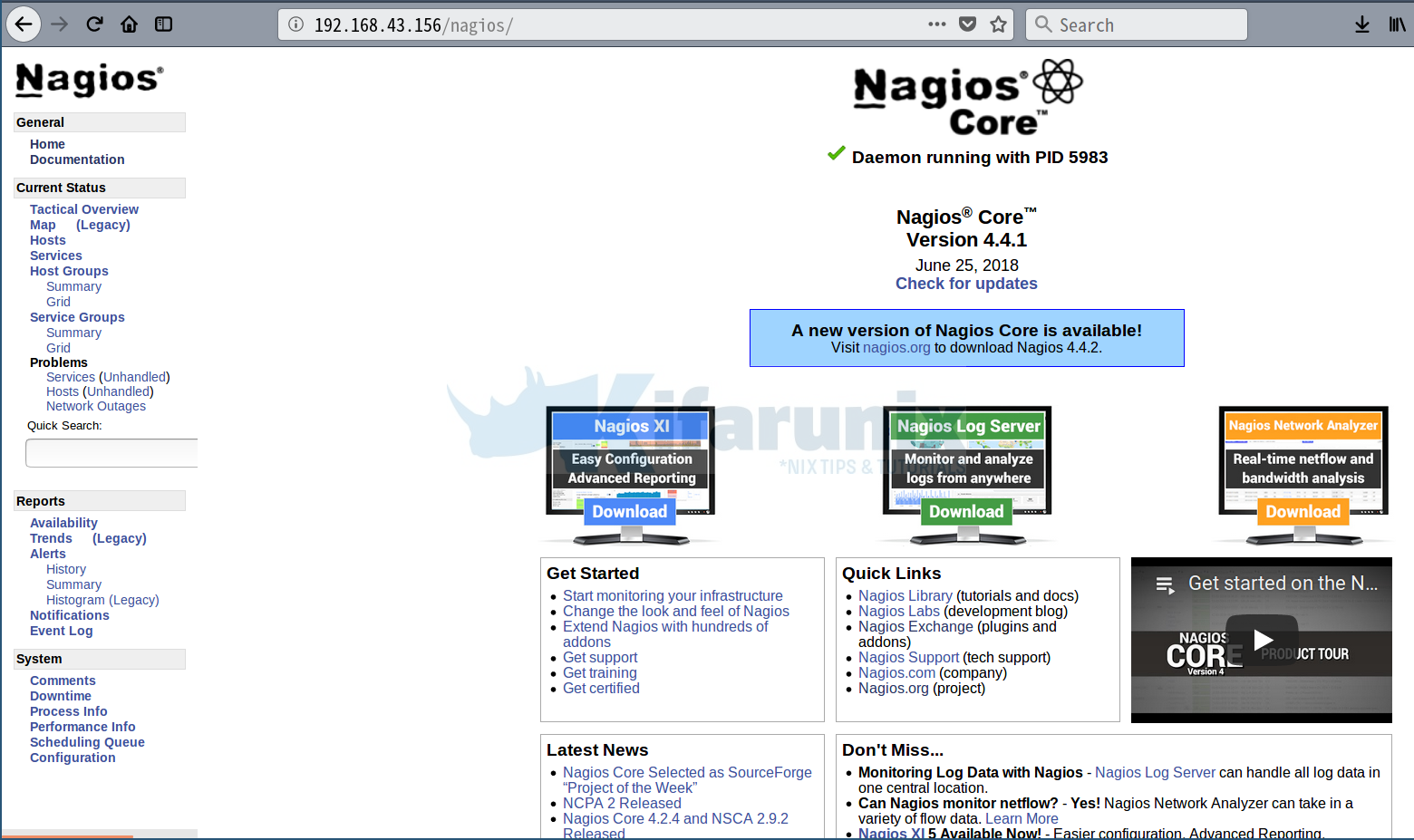 Install and Configure Nagios Core From Source on Ubuntu 18.04