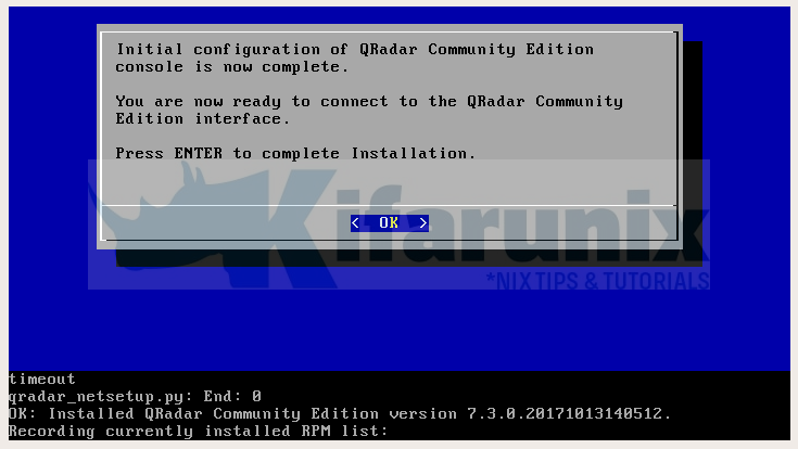 How to Install IBM QRadar Community Edition SIEM on
