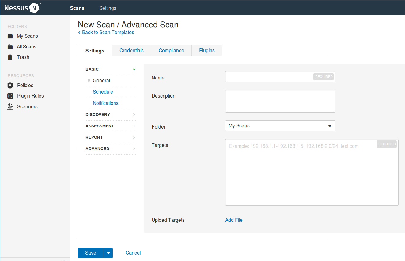 How to Scan a Remote Host using Nessus Vulnerability Scanner