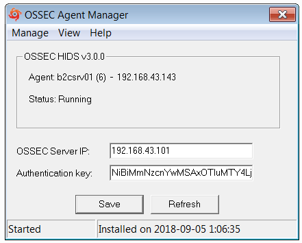 How to Install and Setup AlienVault HIDS Agent on a Windows  Host