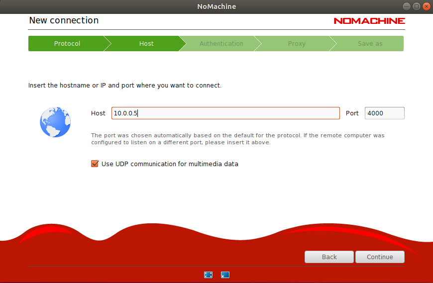 nomachine-set-remote-IP-address