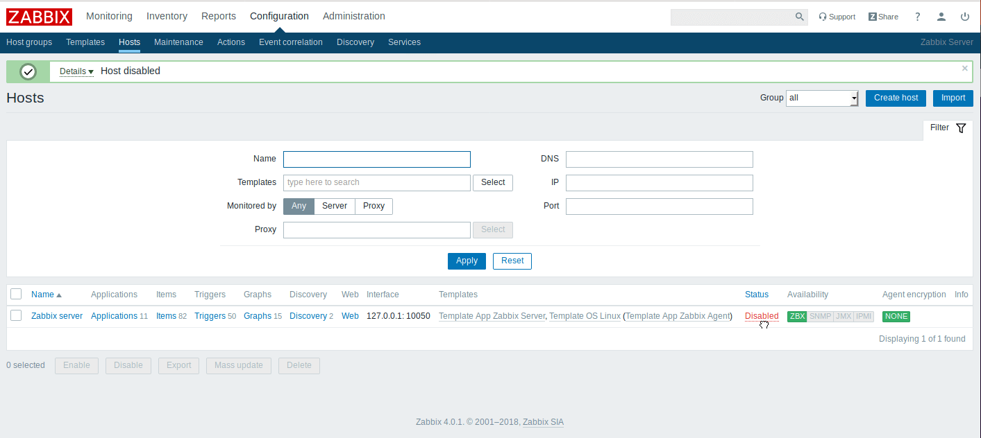 How to Install and Configure Zabbix 4 0 from Source on