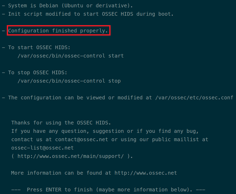 ossec-installation-done