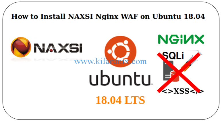 Install and Configure NAXSI Nginx WAF on Ubuntu 18.04 LTS
