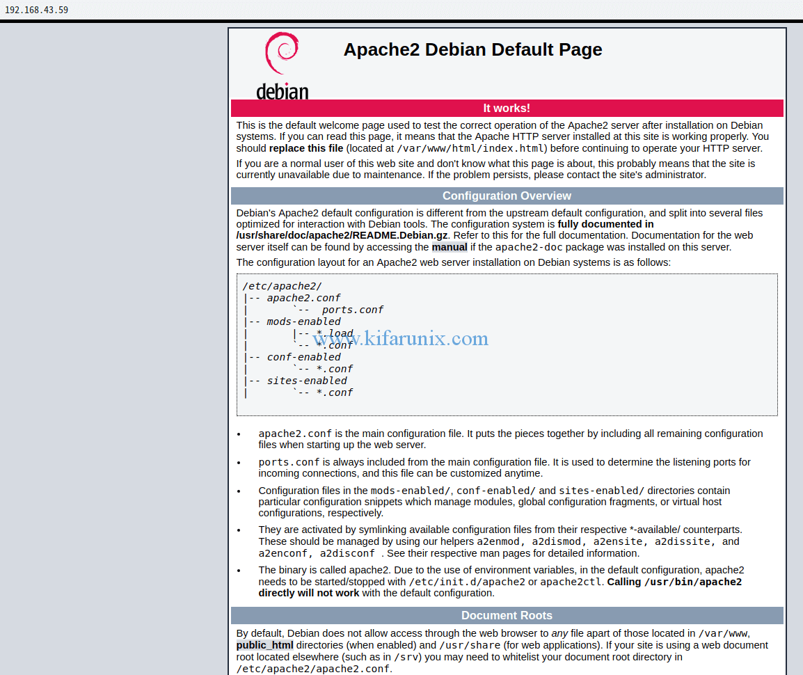 Install LAMP Stack on Debian 9
