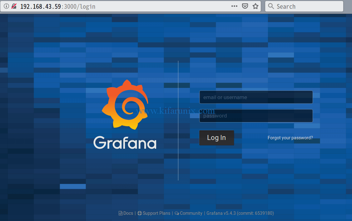 Install Grafana Metrics Monitoring Tool on Debian 9