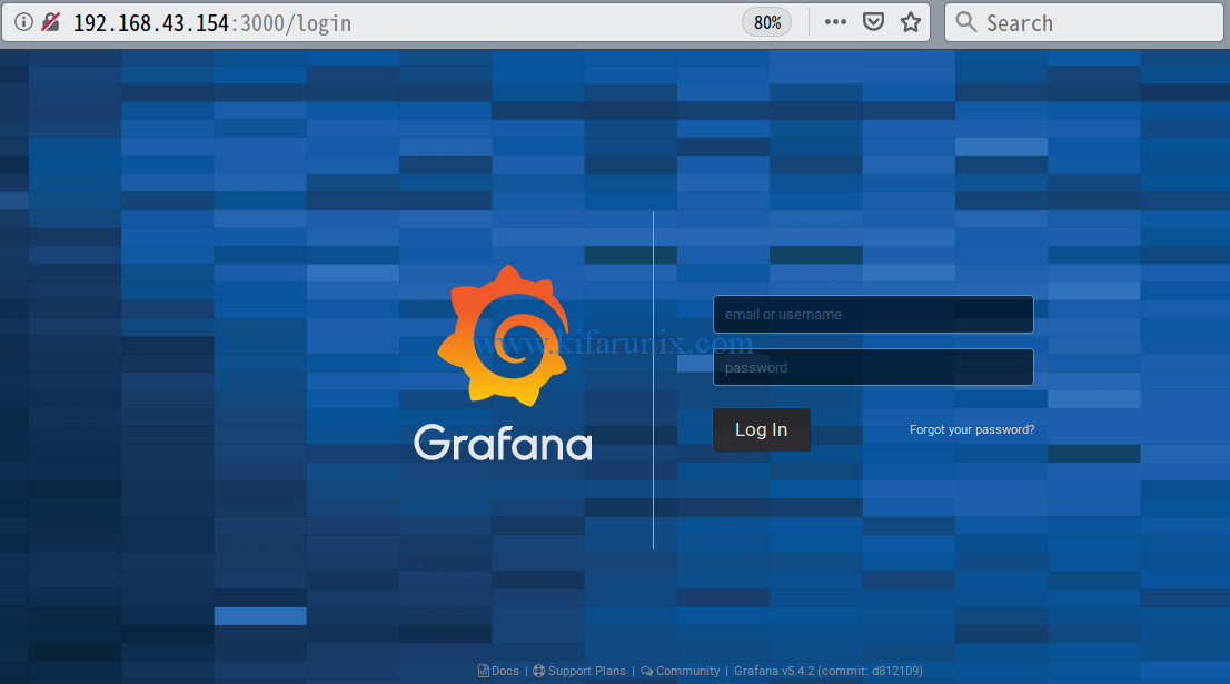 Install Grafana Data Visualization Tool on Ubuntu 18.04