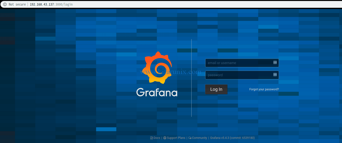 Install Grafana Monitoring Tool on Fedora 29