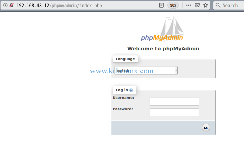 Install phpMyAdmin with Nginx on FreeBSD 12