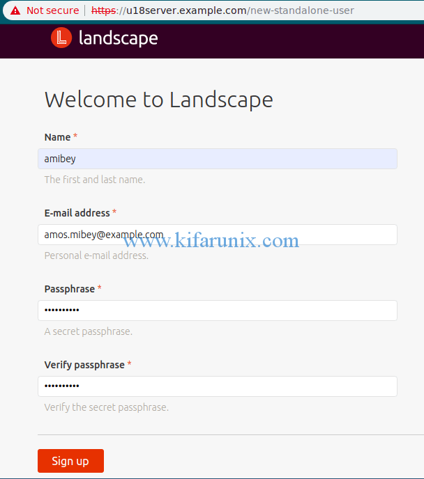 install and setup Landscape on Ubuntu 18.04