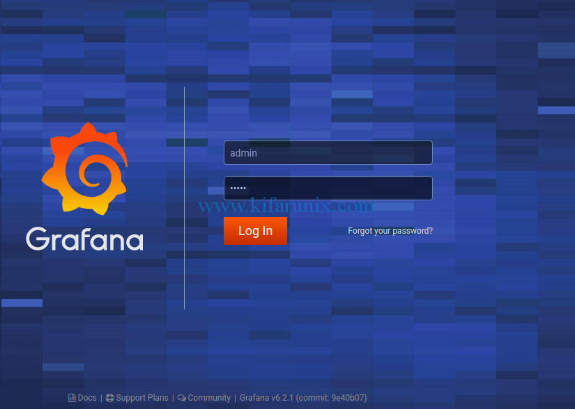 install Grafana 6.2.x on Ubuntu 18.04/Debian 9