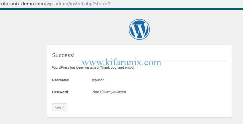 install WordPress 5 on Fedora 30/Fedora 29