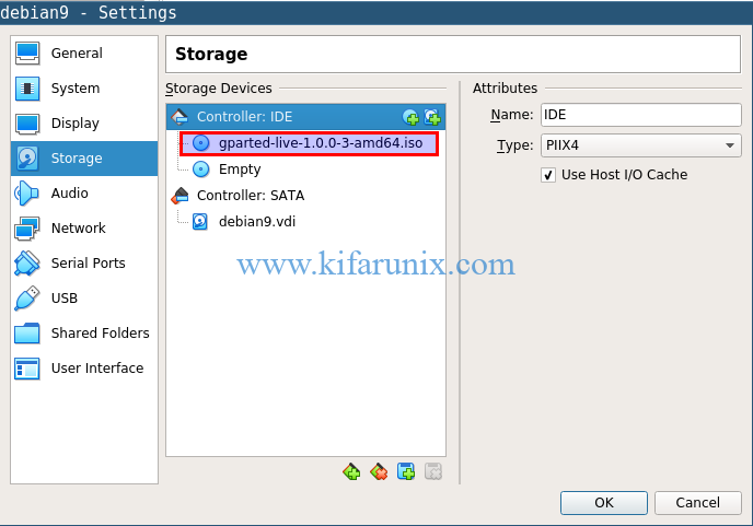 Resize Root Partition of VirtualBox VM Snapshot - kifarunix com
