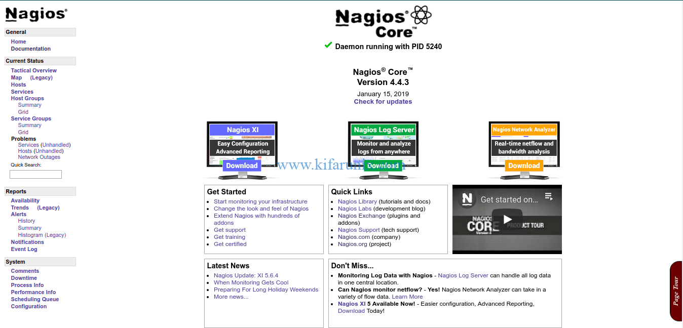 Install Nagios Core on Debian 10 Buster