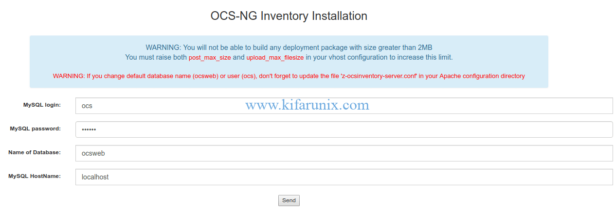 Install OCS Inventory NG on Fedora 30/Fedora 29