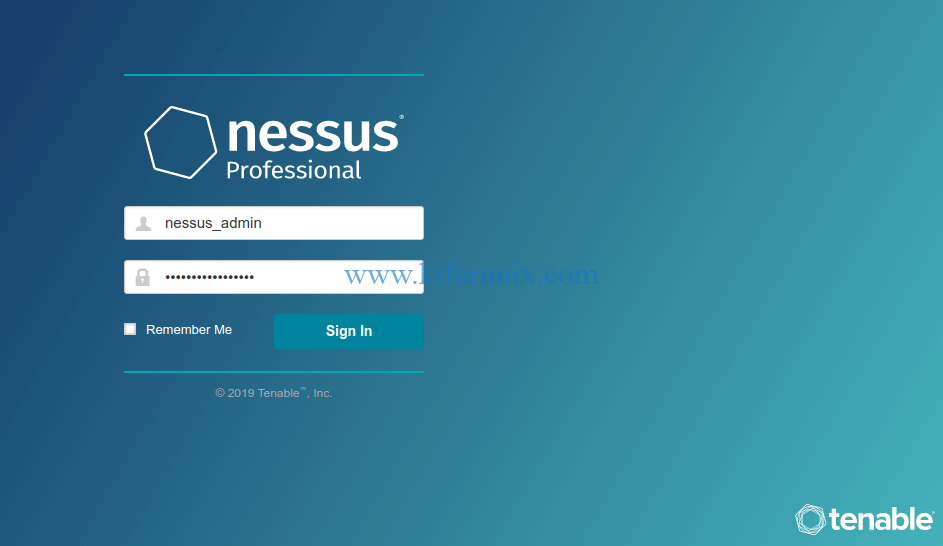 Install Nessus Professional Scanner on Debian 10