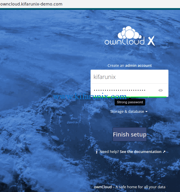 Install ownCloud Server on CentOS 8