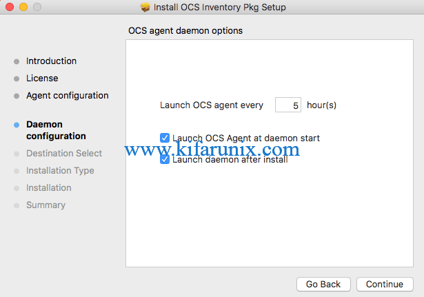 Install OCS Inventory Agent on MacOSX