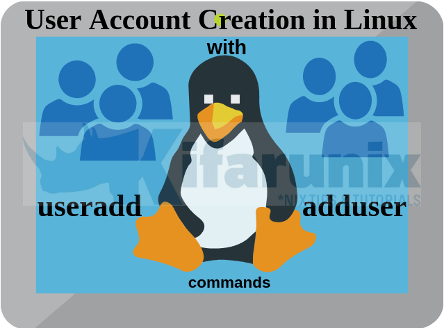Create User Account using useradd/adduser commands in Linux