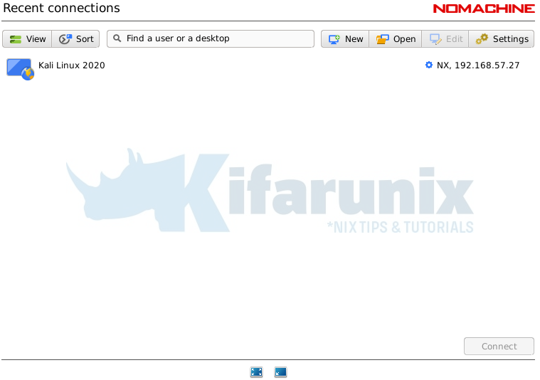Install NoMachine Remote Desktop Tool on Kali Linux 2020