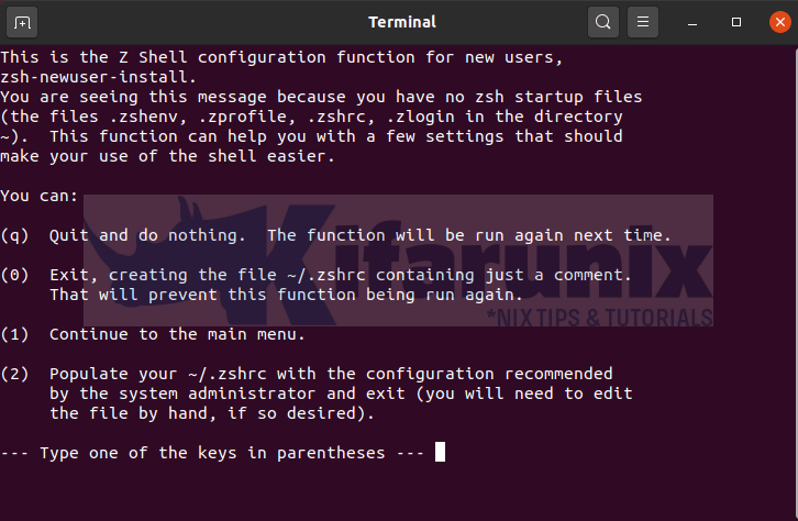 Install and Setup ZSH and Oh-My-Zsh on Ubuntu 20.04