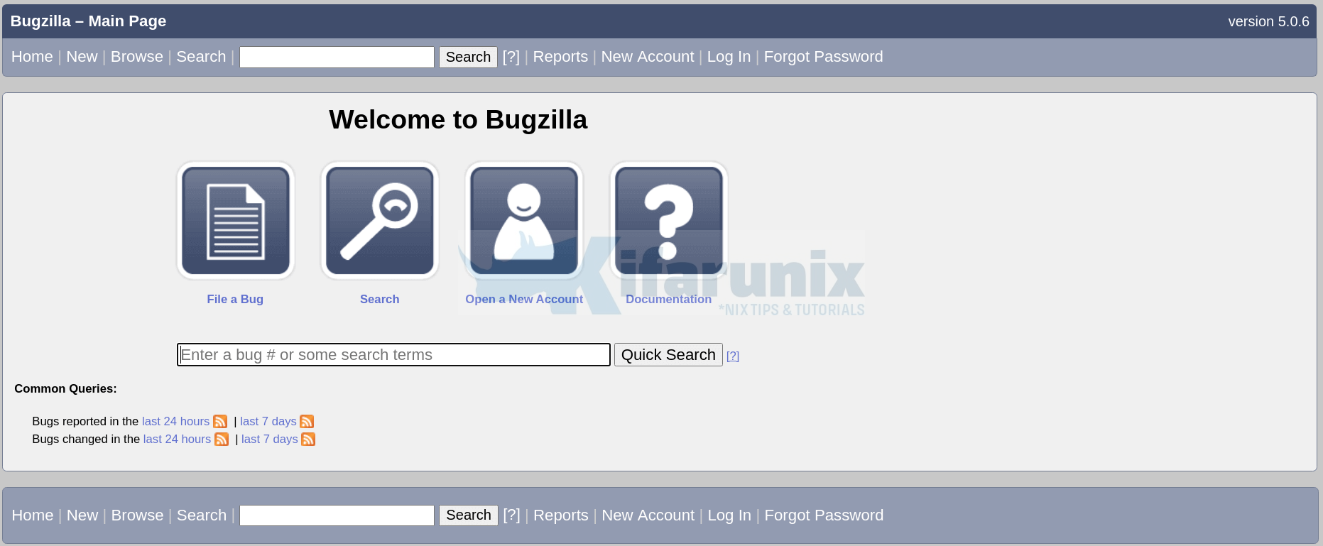 install Bugzilla bug tracker on CentOS 8