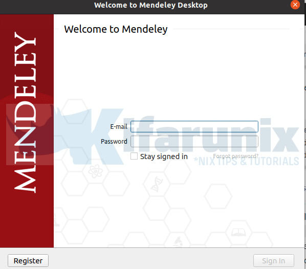 Install and Use Mendeley in Ubuntu 20.04