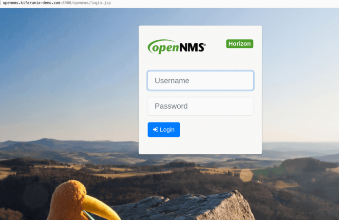 Install OpenNMS Network Monitoring tool on Ubuntu 20.04