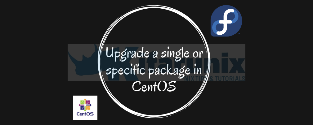 Upgrade a Single Package on CentOS/Fedora