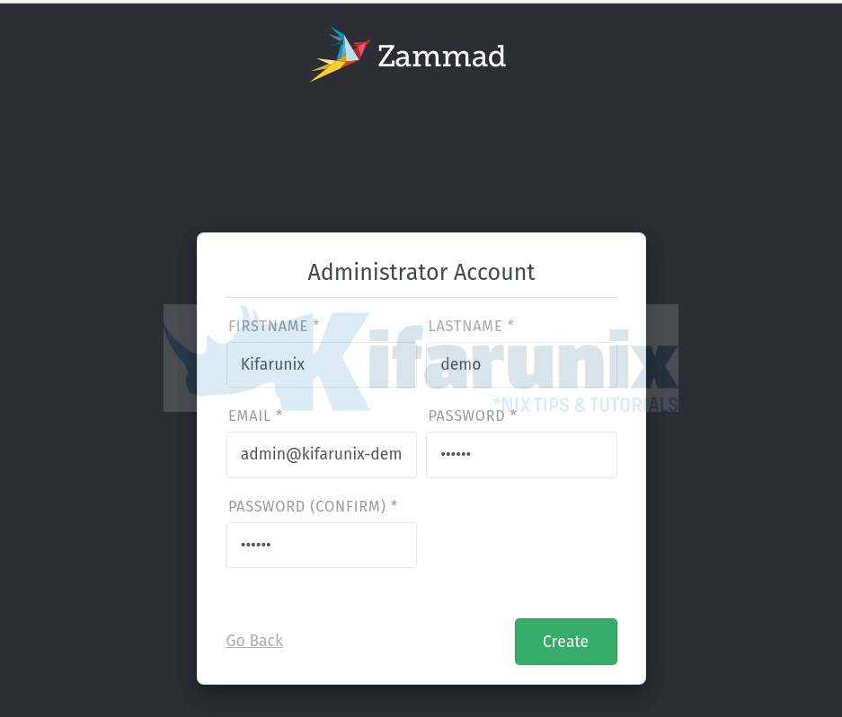 Install Zammad Ticketing System on Ubuntu 20.04
