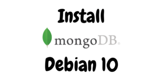 Install MongoDB on Debian 10