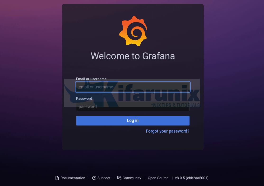 Install Grafana on Rocky Linux 8